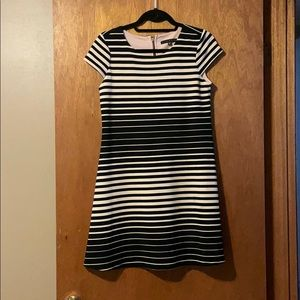 Black & White Striped Dress from ModCloth